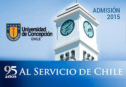 Admisión Universidad de Concepción