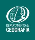 Logo departamento de Geografía de la UdeC
