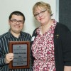 Docente Alfonso Fernández recibe reconocimiento como mejor estudiante en doctorado realizado en EE.UU